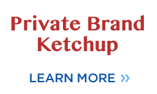 Private Label Ketchup